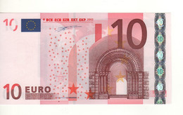 10 EURO  'V'  Spain    Firma DUISENBERG    G 005 B3     /  FDS - UNC - EURO