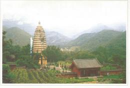 (CHINA) MOUNT SONG - Used Postcard - China