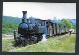"""Carte-photo Moderne """"Tramway De La Corrèze - Ligne Tulle à Argentat En Gare De Forgès - Tram Années 50"""" - Tram"""