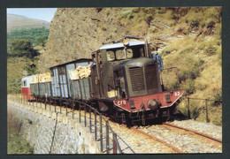 """Carte-photo Moderne """"Tramway Des CFD - Ligne Sainte Cécile-d'Andorge - Florac - Années 50"""" - Tram"""
