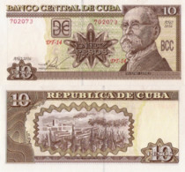 CUBA 10 Pesos, 2016, P-NEW, (not Listed In Catalog), UNC - Cuba