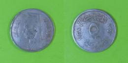 Egypt - 5 Milliemes 1938 Used (eg005) - Egypte