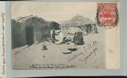 SOUDAN- Village One The NILE In SUDAN  1910  Timbre Sudan Postage  4 MILLIEMES  (2020 Septembre 489) - Sudan