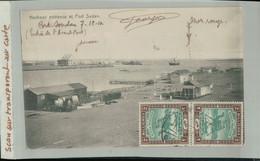 Harbour Entrance At PORT SUDAN 1910  Soudan Postage  Timbres 2 MILLIEMES (2020 Septembre 481) - Sudan