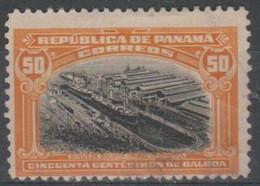 PANAMA - 1920 50c Ship. Scott 218. Fine Used - Panama