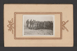 "Egypt - Very Rare - Vintage Original Photo - ( HAGGANA ""Cameleer"" - Egyptian Border Guard Corps ) - On Carton - Covers & Documents"