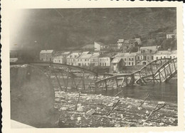France. Ardennes 08. Photo Monthermé 1940: Pont Détruit. - Lieux