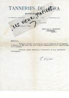 01 - Ain - GEX - Facture BIFRARE - Tannerie Du Jura - 1942 - REF 167A - 1900 – 1949