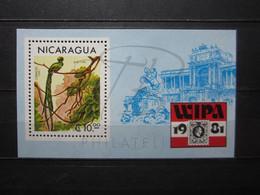 VEND BEAU BLOC FEUILLET DU NICARAGUA N° 145 , XX !!! - Nicaragua
