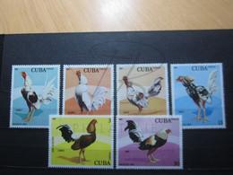 VEND BEAUX TIMBRES DE CUBA N° 2268 - 2273 , XX !!! - Neufs