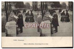 CPA Paris Bouquinistes - Artigianato Di Parigi
