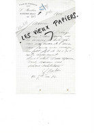 27 - Eure - GISORS - Facture BARBIER - Café Du Général - 1915 - REF 167A - 1900 – 1949