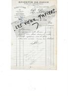 27 - Eure - GISORS - Facture BRESSIN -  épicerie, Vins, Liqueurs, Etc - 1917 - REF 167A - 1900 – 1949