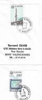 Timbres Sur Lettres 1988 N° 369-70 EUROPA Oblitérations à Voir Cote 18€ - Cartas