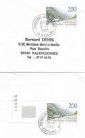 Timbres Sur Lettres 1988 N° 372 Métairie Oblitérations à Voir Cote 5€ - Cartas