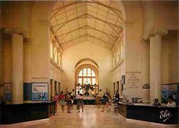63 - La Bourboule - Les Grands Thermes - L'Etablissement Thermal - Vue Générale Du Grand Hall Et La Buvette - CPM - Voir - La Bourboule
