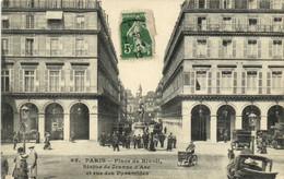 PARIS  Place De Rivoli Statue De Jeanne D'Arc Et Rue Des Pyramides Recto Verso - Distretto: 01