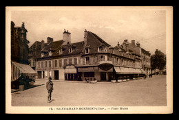18 - ST-AMAND-MONTROND - PLACE MUTIN - Saint-Amand-Montrond