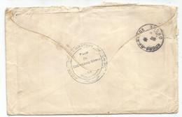 CHINE CHINA MOUCHON  MANQUE UN TIMBRE LETTRE COVER CORPS OCCUPATION CHINE + POSTE DE CHUN LIANG CHENG VAGUEMESTRE 1908 - Storia Postale