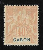 GABON 1904 YT 26(*) - Nuevos