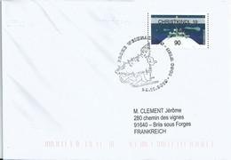 Vignette De Distributeur Inform - ATM - Village Sous La Neige - Sapin De Noël - Christkindl - 2011-... Covers