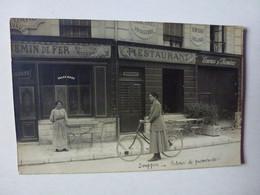 CARTE PHOTO  A IDENTIFIER, MAISON LAVAUD,DELAUNAY SUCCESSEUR ANNUAIRE 1908 - Te Identificeren
