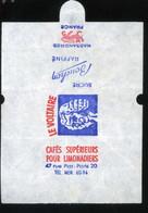 Emballage De Sucre Ancien Bouchon Nassandres Le Voltaire Cafés Supérieurs Pour Limonadiers Rue Piat Paris 20e - Suiker