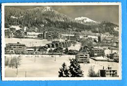 COVR1337, Leysin, E. Kull, 518, Pli Transversal Non Visible, Circulée 1946 - VD Vaud
