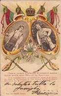 (C).Montenegro.Giubileo 40° Di Regno E Matrimonio Del Principe Nicola.F.to Piccolo.Viaggiata (c17) - Montenegro