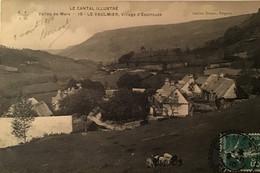 Le Cantal Illustré Vallée De Mars -15- Le Vaulmier Village D Espinouze - Altri Comuni