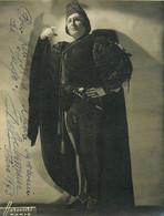 OPERA  LYRIQUE - José BECKMANS (1897-1987)  - BARYTON - PHOTOGRAPHIE AUTOGRAPHE - 1943 - (13 X 17 Cm) - HARCOURT PARIS. - Signed Photographs