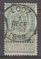 N° 56 OBLITERATION  LOOZ - 1893-1907 Stemmi