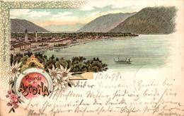 77820- Litho Ricordo Di Ascona Kanton Tessin 1899 - TI Ticino