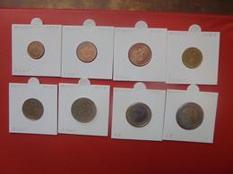 START 1 EURO ! MONACO SERIE COMPLETE 2001 En UNC - Monaco