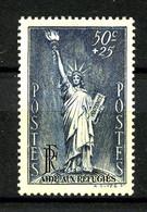 352 - 50c+25c Bleu-gris Statue De La Liberté - Neuf N** - Très Beau - Ungebraucht
