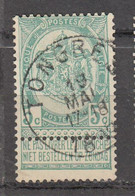 N° 56 OBLITERATION  TONGRES - 1893-1907 Stemmi