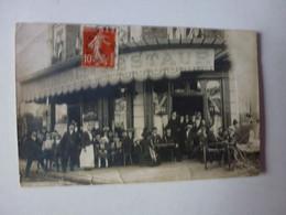 CARTE PHOTO,A IDENTIFIER,PEUT-ÊTRE LE CAFE DE LA GARE A CORBEIL? - To Identify
