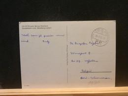 91/307  CP  SUISSE POUR LA BELG.  1983  PP - Cartas