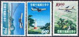 TAIWAN - CHINA - Convair 880 Airliner - TRANSPORT - BRIDGE - **MNH - 1963 - Nuevos