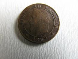 1 Centime Napoléon III 1862BB état Correct - A. 1 Centime