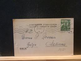 91/321   CP POLOGNE      POUR LA BELG.  1939 - Briefe U. Dokumente