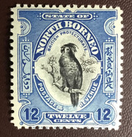 North Borneo 1925-28 12c Cockatoo Birds MVLH - Sin Clasificación