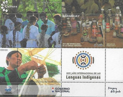 Paraguay 2019, International Year Of Indegenous Languages, MNH S/S - Paraguay