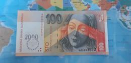 SLOVAKIA 100 KORUN 2000 P36 UNC - Slovakia
