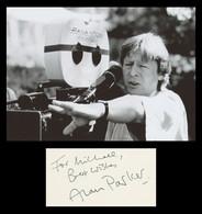 Alan Parker (1944-2020) - English Director - Signed Card + Photo - 1986 - COA - Autógrafos