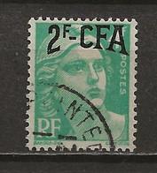 REUNION CFA: Obl., N° YT 290. TB - Reunion Island (1852-1975)