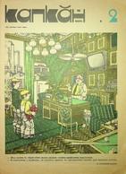 Drie Russische Karikatuur Tijdschriften Uit 1985 W.o. 1x De Krokodil; 2x Kankan - Boeken, Tijdschriften, Stripverhalen