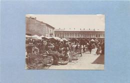ROUMANIE - Marché De Botosani (photo Vers 1900 Format 8,5cm X 6 Cm) - Lugares