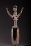 Art Africain Cuillère Dan Guéré 194 - Art Africain