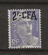 REUNION CFA: Obl., N° YT 292. TB - Reunion Island (1852-1975)